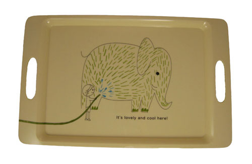 Shinzi Katoh Elephant Serving Tray