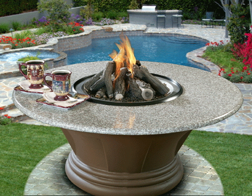 Elegant Gas Fire Pits the ultimate conversation piece