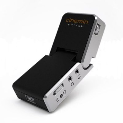 Cinemin Swivel Multimedia Pico Projector mini Review