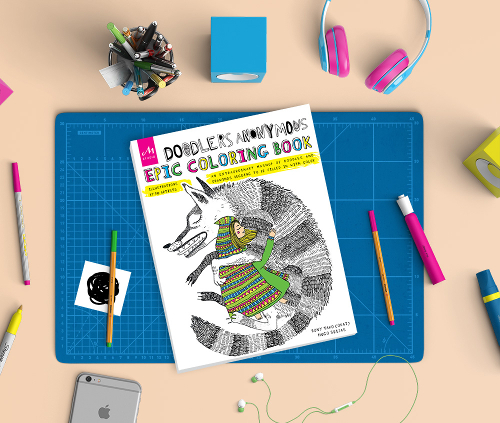 Blog Doodlers Anonymous Epic Coloring Book