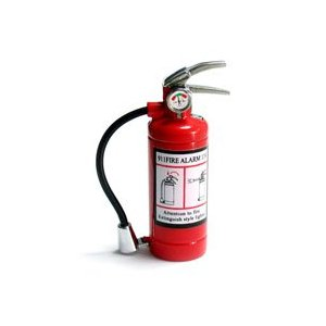 Fire Extinguisher Lighter and Flashlight