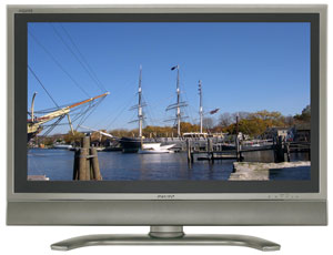 Sharp LC-37D90U begins the onslaught of 1080p LCD screens