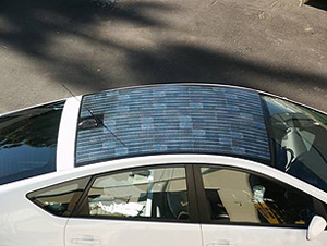 Blog Solar Power For Your Car Toyota Prius Solar Panel