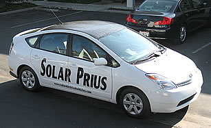 Solar Power For Your Car! Toyota Prius Solar Panel