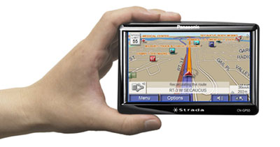 Panasonic to Introduce the Panasonic Strada CN-GP50U Portable Car GPS System