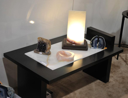 Translucent Onyx Lamps Lights Us Up at the Show