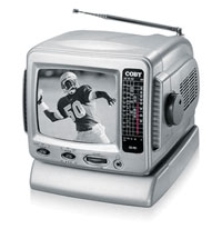 2006 Hurricane Season Must-Have Tools: Portable Coby 5in Black and White Television