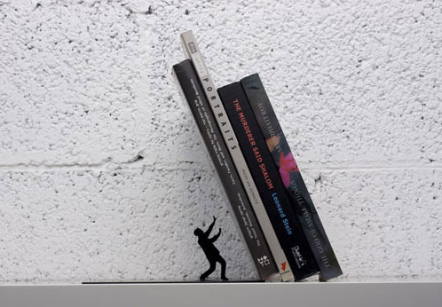 The Falling Bookend
