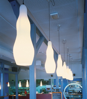 Ghost Pendant Lights by Gunnel Svensson