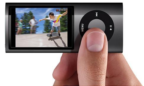 The new iPod nano now takes video
