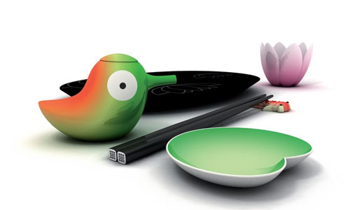 For the Sushi Du Jour: Lily Pond Sushi Set
