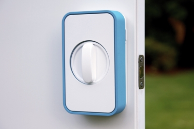 Unlock your home with Lockitron