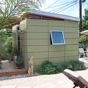 Accent your Modern Home with a Modern Shed