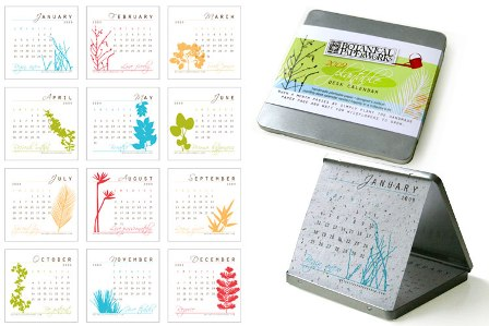 Plantable Eco Calendar: The Calendar You Can Plant