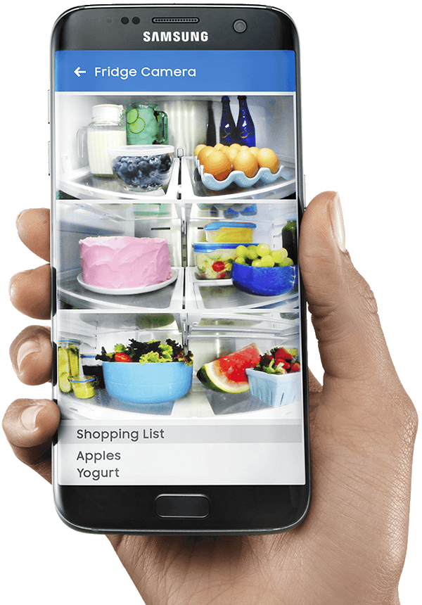 Samsung's Family Hub Let's You See your Fridge On Your Phone