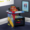 Disney Cars Children Desk Chair with Storage Bin